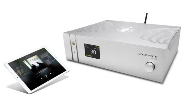 GOLDNOTE IS-1000-Integrated DAC/Streamer Amplifier