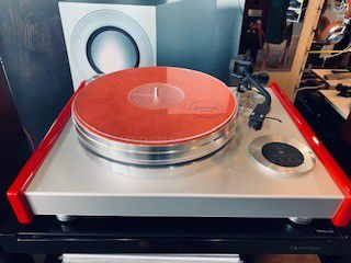 ACOUSTIC SOLID VINTAGE RED/JELCO750-Turntable