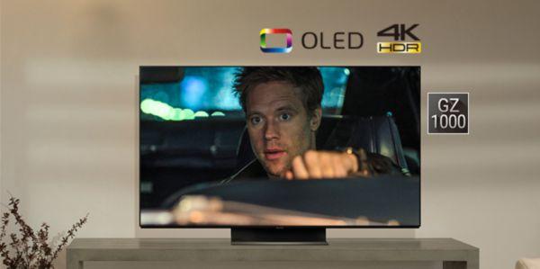 """PANASONIC TC55GZ1000-55"""" 4K HDR OLED TV"""