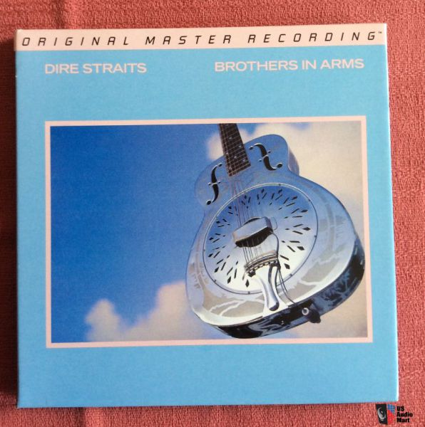 DIRE STRAITS-BROTHER IN ARMS MOFI
