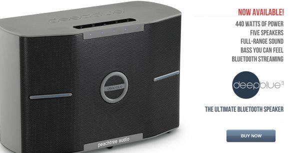 PEACHTREE DEEPBLUE3-Wireless Bluetooth Speaker