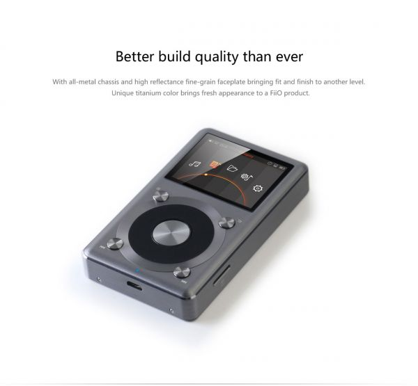 FiiO X3III-Portable Hi-Rez Audio Player