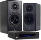 TOTEM KIN MONITORS/KIN AMP- Amp/Speaker Combo