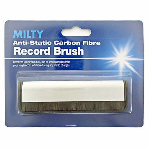 MILTY RECORD BRUSH-Anti-Static Carbon Fibre