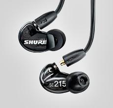 SHURE SE215- Isolating Earphones