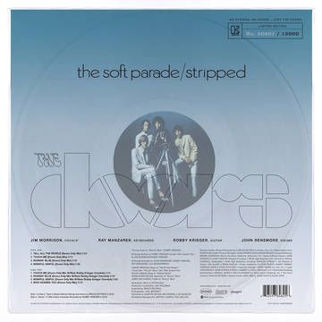 THE DOORS-The Soft Parade/Stripped