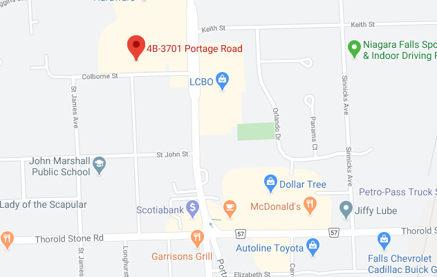 Map of 4B-3701 Portage Road